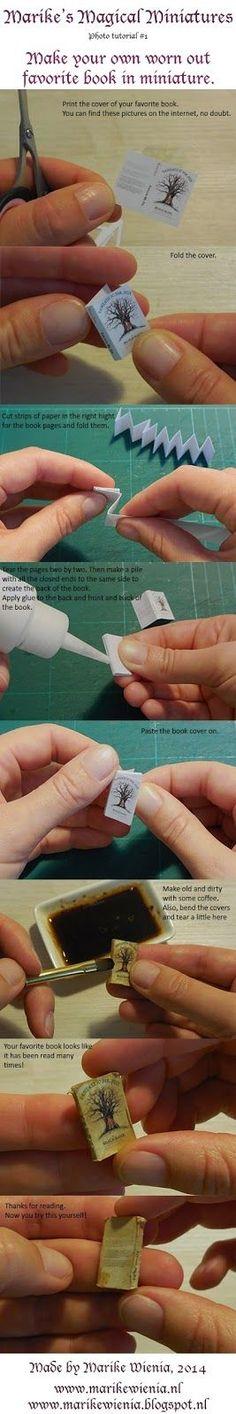 Marike mágikus Miniatures szabad mágikus könyv bemutató: