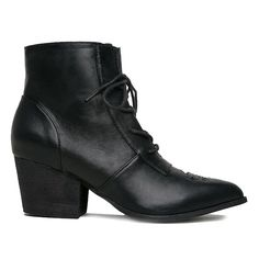 1b181f83e5b Y.R.U. Aura Witch Boots in Black - I AM GETTING THESE NEXT PAYCHECK Black  Moon