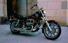 Maverick's ride: 1983 FXS Lowrider