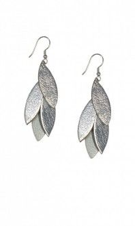 Raven and Lily: Fair Trade, Eco-Friendly Jeweler Zia: Vine Leather Earrings