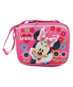 Another great find on #zulily! Pink Minnie Mouse Lunch Box by Wonderland Toys #zulilyfinds