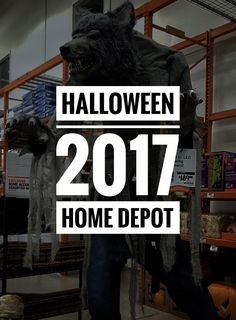 I had the pleasure today to go to the clear front-runner in this year's Halloween merchandise race. Home Depot is just killing it again this year with their stuff. Just look at this spread: …