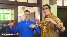 Watch: Justin Bieber teams up with Japanese PPAP star Pikotaro