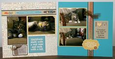 """With two fur-babies in the house–one cat, one dog–I couldn't wait to make pages with our newFur-Ever Friendscollections. FUR-EVER FRIENDS–FLUFFY Two years ago, on Valentine's Day, a stray cat took shelter in our garage during a nasty cold snap. He quickly moved into our hearts and home. Boots has a lot of """"cat-titude"""". He's definitely … Continue reading Friends Fur-Ever →"""