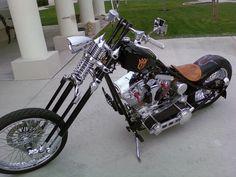 Jesse James West Coast Choppers - CFL Frame, Forks, Front + Rear Rim, Custom Chopper - $5,999.99 (£4,501). http://ebay.com/itm/Jesse-James-West-Coast-CFL-Frame-Forks-Front-Rear-Rim-Custom-Motorcycle-Chopper-/181815963337?nma=true&si=m39v04b1zlM%252Boh9oAOzTAmKoPXw%253D&orig_cvip=true&rt=nc&_trksid=p2047675.l2557 and/or http://shop.wcc-global.com/pages/cfl-iii