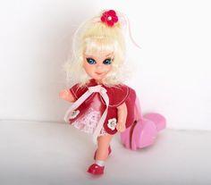 Vintage 60s Shirley Skediddle Liddle Kiddle Doll