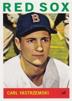 carl yastrzemski baseball card | Carl Yastrzemski, Topps Chewing Gum Company, 1964. | Baseball Cards