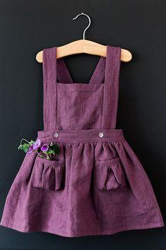 Ayla niño delantal vestido vestido de niñas por blytheandreese