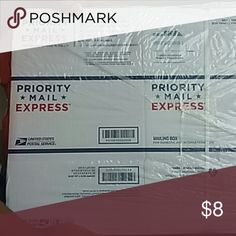 ??Priority Mail Express Boxes NWT for Int'l & Domestic shipping. Never been used. Total of 10 boxes USPS Other