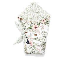 Wild Blossom baba pólya Páratlan minőség! - Bubbaland.hu - Prémium babatextil webáruház Floral Tie, Horns, Projects, Baby, Log Projects, Horn, Babies, Infant, Child