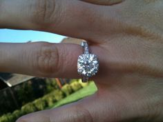 In love with this 2 carat ring