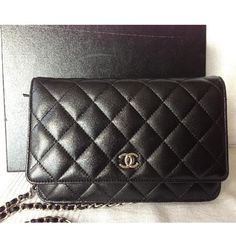Chanel Clutch - have it in silver and it is awesome.
