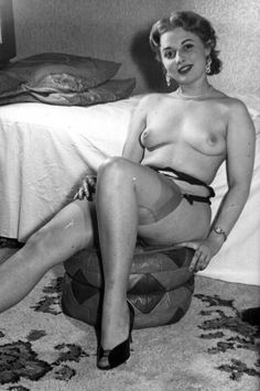 """beforethecolon: """" Footstool fetish. From alt.binaries.pictures.erotica.vintage. """""""
