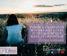 Transforma lo imposible en posible y conviértelo en realidad😃✴️ #CentroTiban