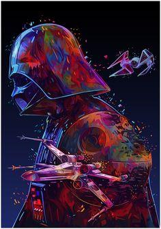 Star Wars Tribute Vol. 2 – Star Wars Serie All Episodes – Watch Star Wars Serie Star Wars Fan Art, Film Star Wars, Star Wars Poster, Star Art, Darth Vader Star Wars, Anakin Vader, Darth Maul, Star Wars Tattoo, Tableau Star Wars