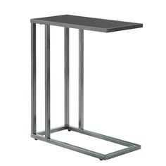 side table | the container store | metal, mdf | black | $60 | 20x10x24