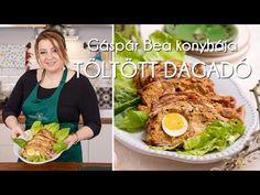 Gáspár Bea konyhája: Töltött dagadó   Mindmegette.hu - YouTube Meat, Chicken, Youtube, Food, Essen, Meals, Youtubers, Yemek, Youtube Movies