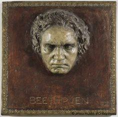 "Franz von Stuck, ""Ludwig van Beethoven"", Paris, musée d'Orsay."