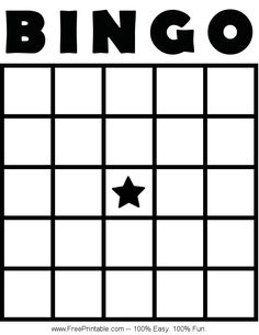 Bingo card templates cards bingo template 4x4 and template customize your free printable blank bingo card thecheapjerseys Image collections