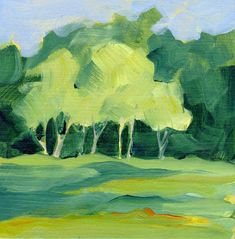 ... Painting Landscapes With Acrylics Acrylic Paintings Third Time Around ...