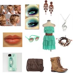Untitled #375 by vera-go on Polyvore featuring Sole Society, Fat Face, Pull&Bear and Sunday Somewhere