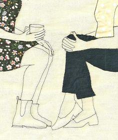 Broderie et illustrations par Sarah Walton