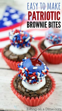 4th of July  Brownie