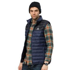 New 2015 down outdoor waistcoat men Sports Face Down Vest Jackets 90% White Duck Waterproof keep warm Outdoors down  jacket