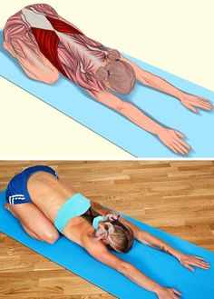 Muscles stretched in each yoga pose. This post will replace a whole massage session. Fitness Workouts, Yoga Fitness, Health Fitness, Fitness Tips, Fitness Humor, Cardio Gym, Muscle Fitness, Physical Fitness, Fitness Goals