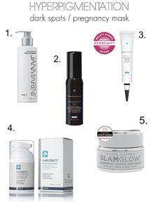 Tips on how to get rid of hyper-pigmentation or Melasma (pregnancy mask)