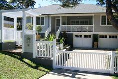 Coastal Farmhouse, Modern Coastal, Coastal Decor, Coastal Cottage, Coastal Living, Front Yard Fence, Fenced In Yard, Farm Fence, Fence Doors
