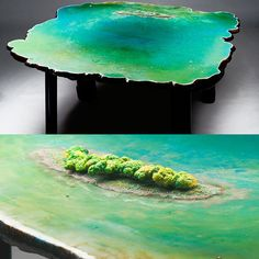 Ocean table by Gaetano Peasce