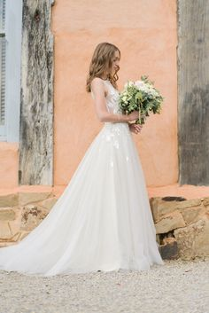 c7048a55c43 Romantic French Inspired Wedding. Princess Ball GownsPrincess ...