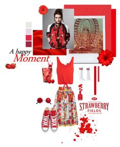 """There is a shade of red for every woman"" by svenjadobbert on Polyvore featuring Mode, Dolce&Gabbana, Splendid, Converse und Charlotte Russe"