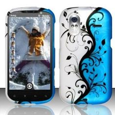 HTC Amaze 4g T-Mobile Accessory - Blue/Silver Vines Design Case Protective Cover (Wireless Phone Accessory)  http://www.amazon.com/dp/B00752B5D2/?tag=heatipandoth-20  B00752B5D2