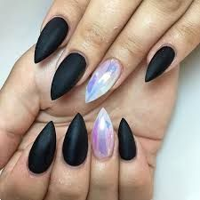 Image result for acrylic nails short stiletto