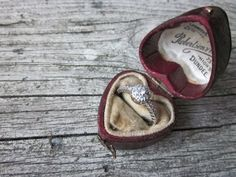 Antique Ring Box by housewarming101 on Etsy