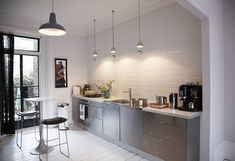 kuchnia bez górnych szafek - Szukaj w Google