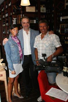 Paolo Lauciani ed il suo staff.