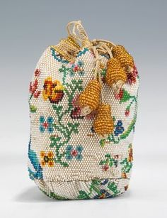 Object Name  Bag (Coin Purse)  Date  1780–1810