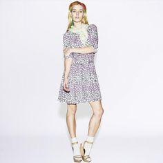 Chloe Melissa Norgaard x Uniqlo SS13 Campaign. #TheONES #ChloeNorgaard #models
