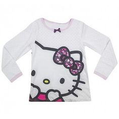 Hello Kitty Shirt met lange mouwen, 1,5-10 jaar Pink Girl, Hello Kitty, Girl Outfits, Sweatshirts, Girls, Sweaters, Clothes, Fashion, Baby Clothes Girl