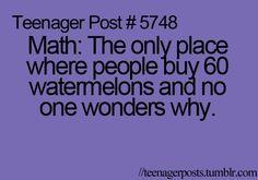 No one wonders...