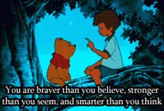 braver, stronger and smarter than you think