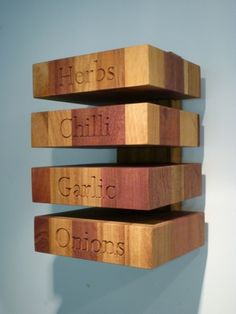 A MIXED WOOD HERB STACK