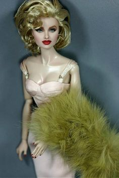 Fashion Royalty Anja as Agent blank face White skin integrity doll head repaint