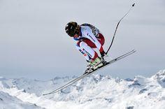 ST MORITZ, SWITZERLAND - MARCH 15: Lara Gut of Switzerland in action during the Audi FIS Alpine Skiing World Cup downhill training on March 15, 2016 in St Moritz, Switzerland.