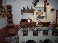 Home Decorators Hamilton Vanity Kitchen Dinning Room, Rustic Kitchen, Country Kitchen, Mexican Style Homes, Mexican Style Kitchens, Mexican Interior Design, Hacienda Kitchen, Southwest Decor, Dark Interiors