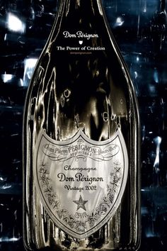 David Lynch Redesigns Champagne Bottle For Dom Pérignon David Lynch, Flute Champagne, Vintage Champagne, Champagne Quotes, Gold Champagne, Vintage Wine, Champagne Bottles, Sangria, Don Perignon