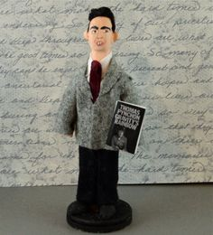 Thomas Pynchon Doll Miniature Author and by UneekDollDesigns, $46.00